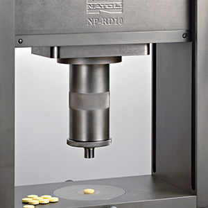 Natoli products, full-size industrial to benchtop model tablet presses