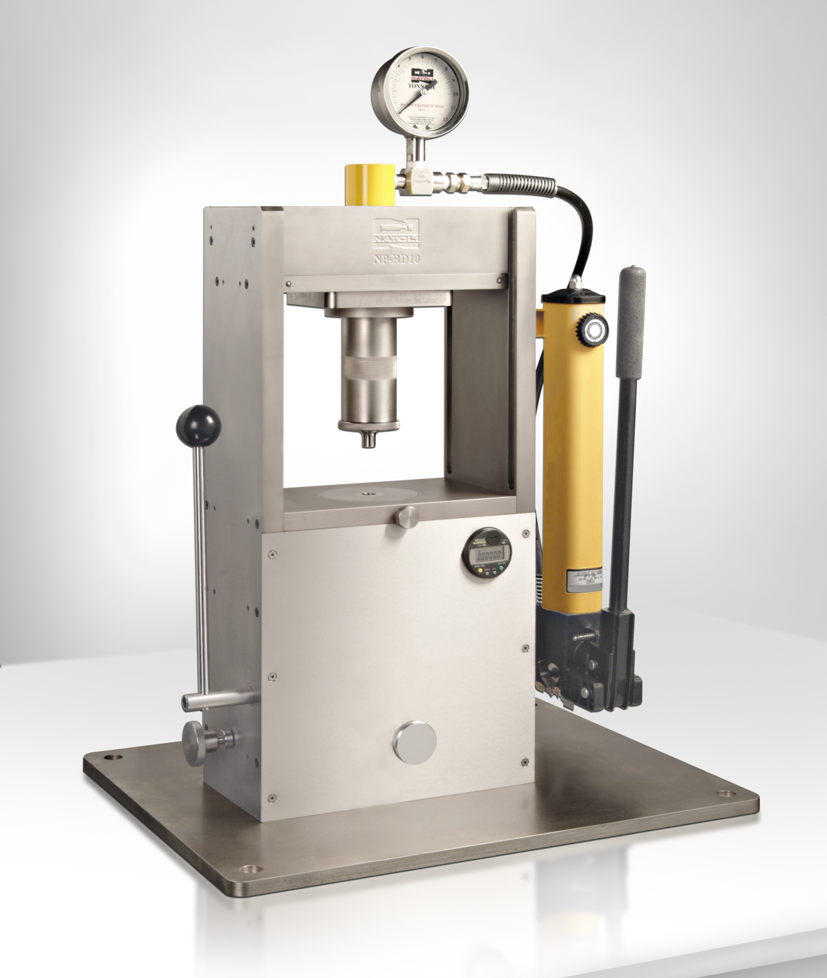 manual single-station tablet press