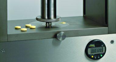 manual single-station tablet press Close 1