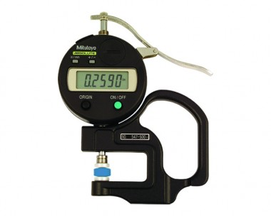 HANDHELD DIGITAL THICKNESS GAUGE  (INCH/METRIC)