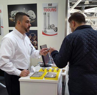 Natoli Engineering at Pharmintech trade show Bologna Italy