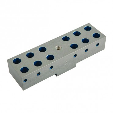 breakaway closing pin holding block