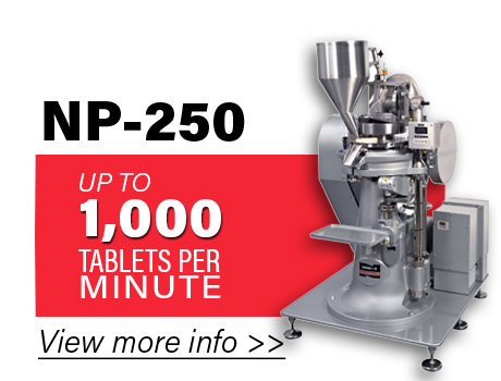 NP-250-Production-Tablet-Press-Option