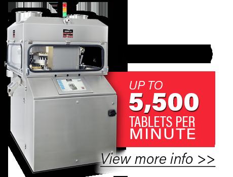 NP-500-Production-Tablet-Press-Option