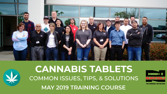 Cannabis Tablet Training Natoli California 2019